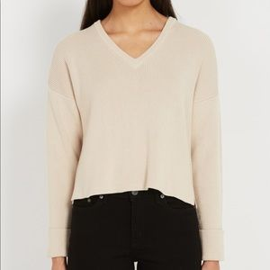 Frank and Oak recycled - organic cotton sweater